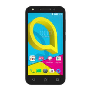 Alcatel U5 smartphone front view