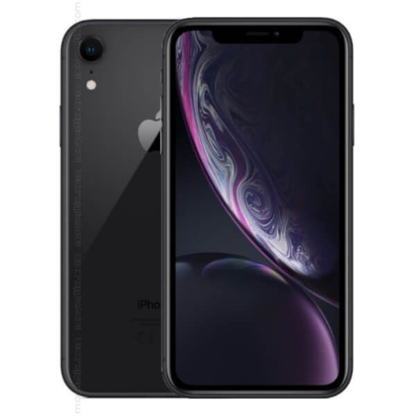 Apple iPhone XR 128GBBlack front back and side view