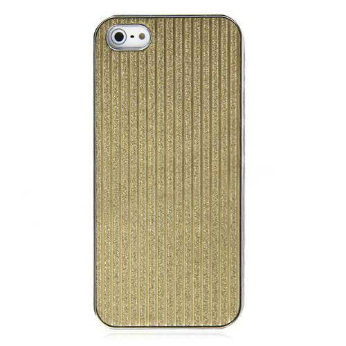 Plastic Lining Case For iPhone 5/5s Gold