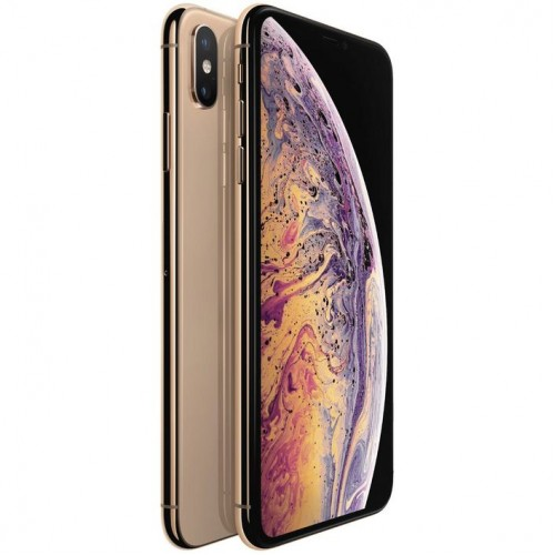Apple iPhone XS Max 64GB Gold front side view