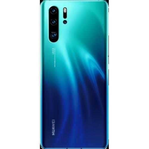 Huawei P30 Pro aurora back view