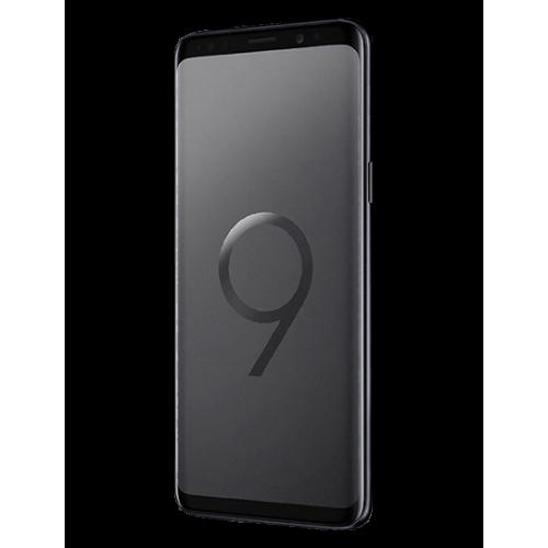 Samsung Galaxy S9 64GB midnight black front view