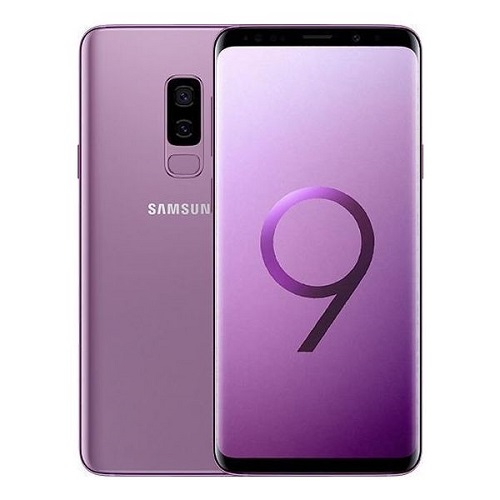 Samsung Galaxy S9 Plus 64GB purple front rear view