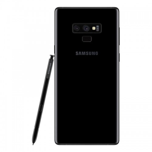 Samsung Galaxy Note 9 512GB Midnight Black front and back view