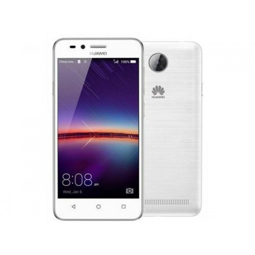 Huawei Y5 2017 White front and back