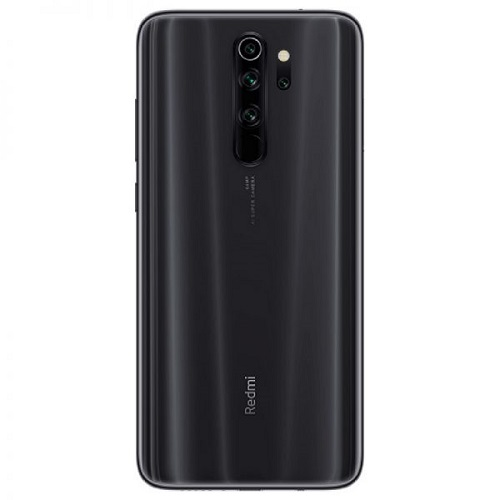 Redmi Note 8 Pro 128gb black back view