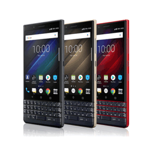 blackberry key 2 black red silver