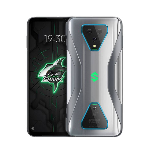Xiaomi Black Shark 3 Pro 256GB silver front and back view