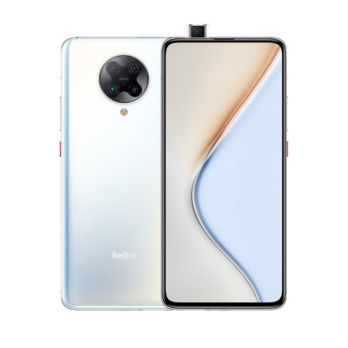 POCO F2 Pro 128GB White front and back view