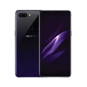 oppo r 15 pro purple rear camera view