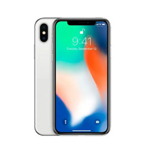 pre owned iphone x silver