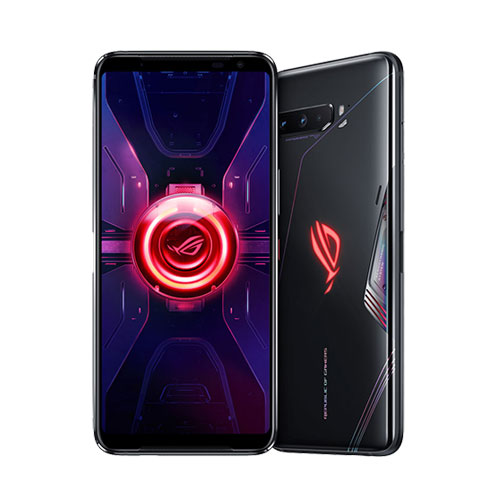 Asus ROG Phone 3 12GB RAM black front and back view