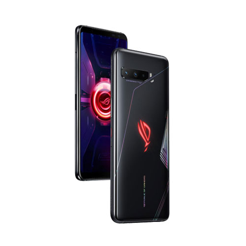 Asus ROG Phone 3 Tencent 512GB Black Glare side view
