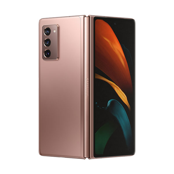 galaxy z fold 2 refurbished mystic bronze